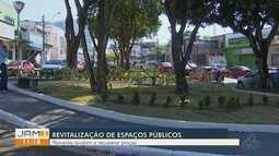 Moradores ajudam a cuidar de espaços públicos em Manaus