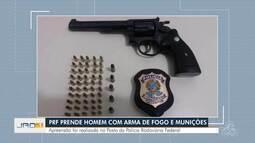 PRF Prende homem com arma de fogo e munições
