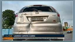 Homem é preso depois de furtar carro, em Ponta Grossa
