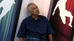 Candidato à presidência do Itabaiana, Alberto Nogueira é entrevistado no estúdio do GE