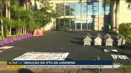 Câmara de Londrina vota projeto que pede que imposto volte aos valores de 2017