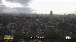 Terça-feira (20) amanhece fria em Curitiba