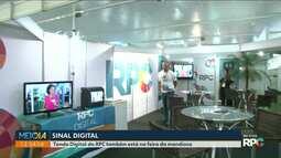 Tenda digital da RPC está na Feira Internacional da Mandioca em Paranavaí