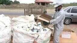 Agricultores de Ubajara se mobilizam para a devolução de embalagens de agrotóxicos