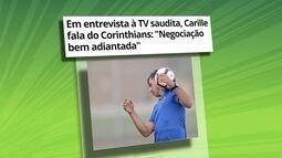 Central do mercado: Carille afirma que negociação com Corinthians está bem adiantada