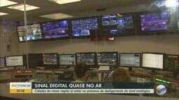 Cidades da região já estão no processo de desligamento do sinal analógico