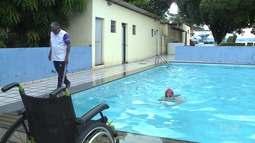 Isabele garante vaga na seleção brasileira de natação paralímpica