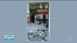 Bandidos explodem caixas eletrônicos no Sertão de Pernambuco
