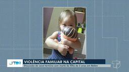 Criança de dois anos é morta pelo padrasto dentro de casa após briga em Belém