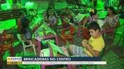 'Feirinha Largo São Sebastião' reúne atividades para crianças no Centro de Manaus