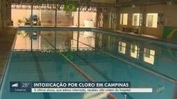 Última aluna internada por intoxicação por cloro recebe alta do hospital em Campinas