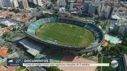 Clubes da região correm para regularizar situações dos três estádios fechados