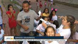 Projeto Amigos Solidários incentiva adoção de cartinhas para presentear crianças carentes