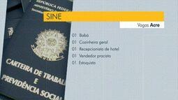 Sine oferta 15 vagas de emprego para Rio Branco nesta terça-feira (11)