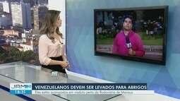 Governo faz ação para retirada de venezuelanos do entorno da rodoviária de Manaus