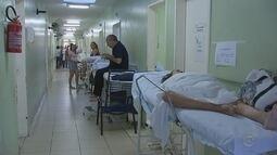 Pacientes reclamam da lotação da Santa Casa de Rio Preto