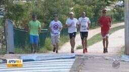 Atletas amadores da região se preparam para a Corrida de São Silvestre