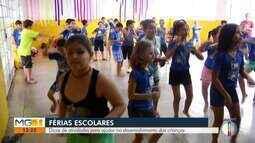 Psicóloga dá dicas de atividades para o período de férias escolares das crianças