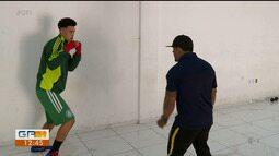 Campeão brasileiro juvenil de boxe descobriu o esporte em projeto social de Petrolina