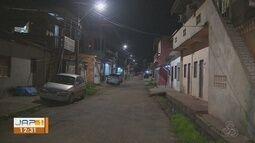 Iluminação pública do bairro Hospital de Base é trocada e moradores comemoram