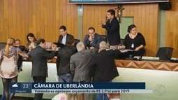 Projeto da LOA 2019 começa a ser votado pela Câmara de Uberlândia