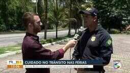 Polícia Rodoviária Federal orienta motoristas que vão viajar durante as férias
