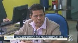 Vereador é preso por trádico e estelionato em Rondônia
