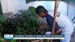 Mutirão contra dengue é realizado em Resende