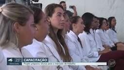 Projeto social no Ceasa prepara alunos para mercado de trabalho