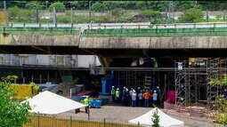 Um mês de obras em viaduto deixa trânsito mais engarrafado em SP