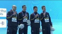 Brasil conquista três medalhas no mundial de natação na China