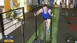 Atleta com Síndrome de Down se dedica ao Crossfit