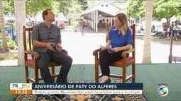 RJTV entrevista prefeito de Paty do Alferes - Parte I