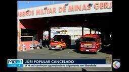 Julgamento de viúva de bombeiro morto a tiros em 2012 é cancelado em Araxá