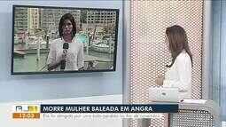 Morre mulher atingida por bala perdida em ponto de ônibus na Rio-Santos, em Angra