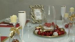 Confira dicas de como preparar uma bela mesa natalina