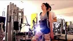 Laís Souza enfrenta maratona de exercícios e fisioterapia para tentar recuperar movimentos