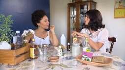 Farmacêutica Mona Soares mostra como usa a cosmetologia para criar produtos