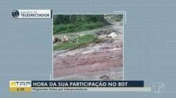 Veja denúncias e flagrantes enviados por telespectadores no Bom Dia Tapajós