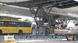 Prefeitura de Joinville dá início às obras de manutenção do Terminal Central