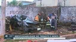 Tristeza e dor, diz família de vigilante morto por motorista na contramão na Via Norte