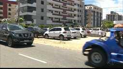 Falta estacionamento para quem vai aproveitar a orla de João Pessoa