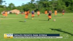 Esporte: estreia do São Francisco e Tapajós no Parazão, venda de ingressos e mais