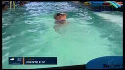 Nadador máster de Divinópolis busca apoio para competir na Coreia do Sul