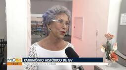 Painel cubista é reformado e retorna à Governador Valadares