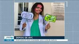 Jovem supera AVC e é aprovada em duas faculdades de medicina em Roraima