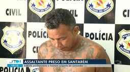 Preso homem suspeito de comandar quadrilha que praticava assaltos em Santarém