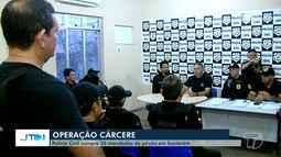 Polícia Civil cumpre cinco de 30 mandados de prisão em Santarém