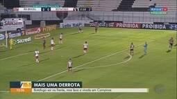Botafogo-SP sai na frente, mas leva a virada do RB Brasil em Campinas, SP