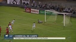 Comercial pega o Capivariano neste sábado (16) na Série A-3 do Paulista